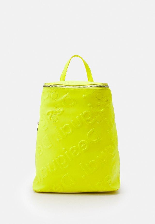 BACK COLORAMA LOEN - Zaino - amarillo fluor