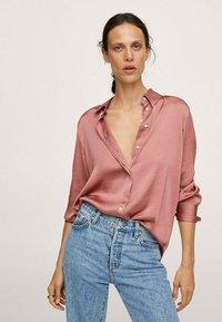 Mango - IDEALE - Overhemdblouse - pink - 0