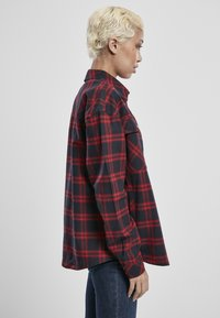 Urban Classics - OVERSIZED  - Button-down blouse - midnightnavy/red - 7