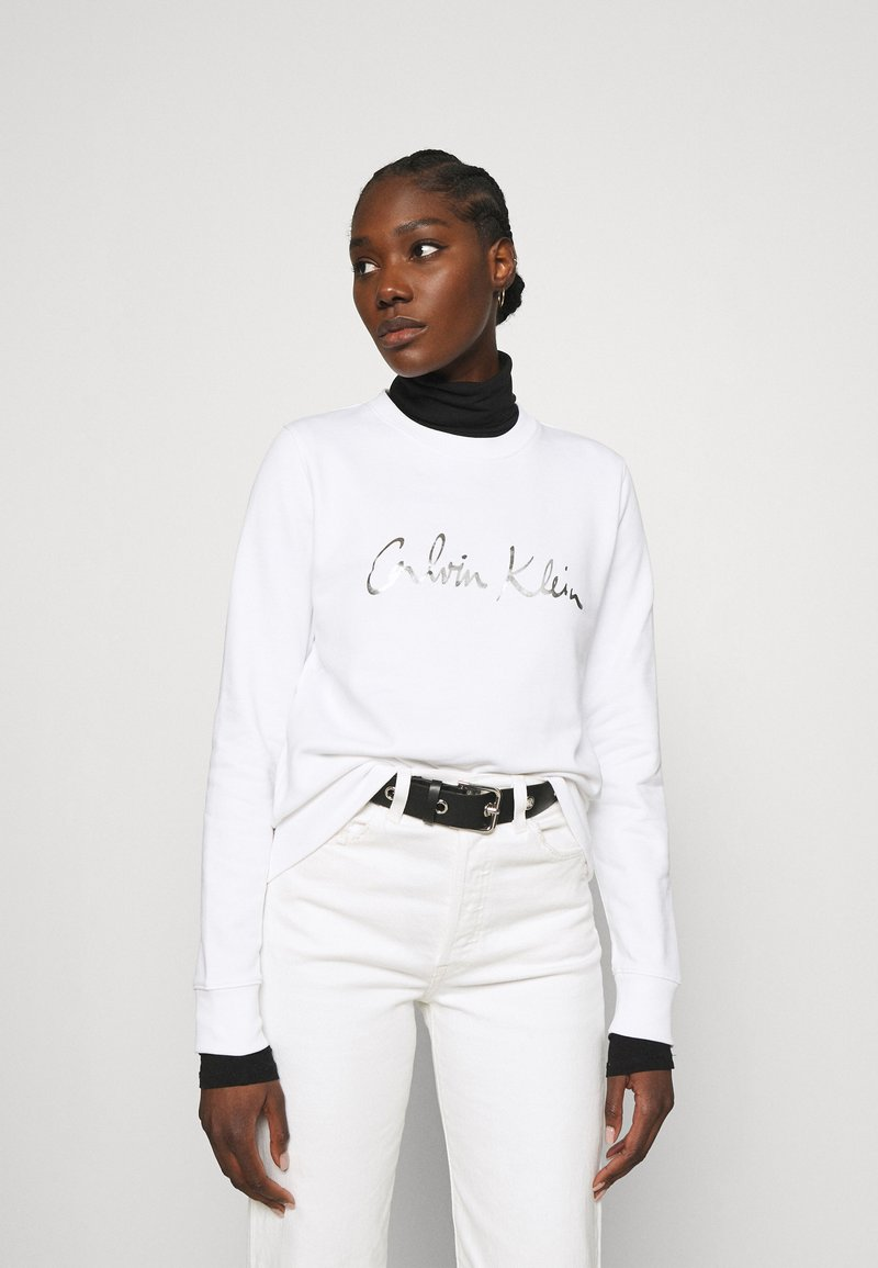 Calvin Klein - SIGNATURE - Sweatshirt - bright white