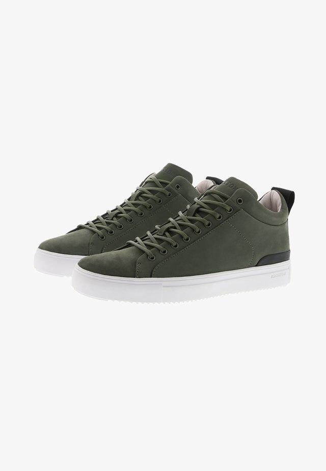 Baskets basses - green