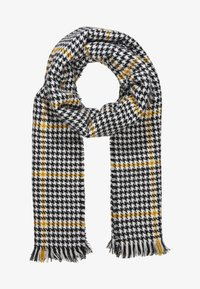 ONLY - ONLSIA SCARF  - Scarf - cadmium yellow/black/cloud - 1