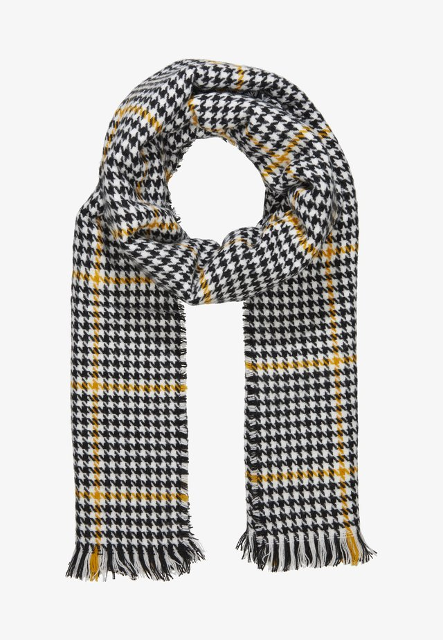 ONLSIA SCARF  - Szal - cadmium yellow/black/cloud