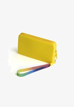 MINI BAG PLUS LOGO DOTS - Portfel - yellow