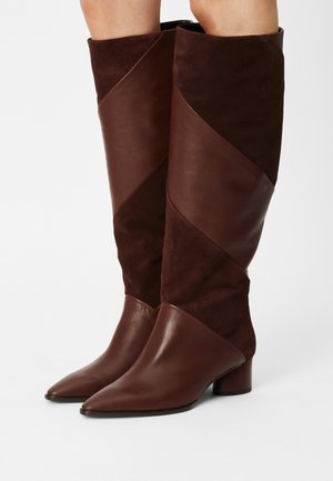 NELLA - Boots - chocolat