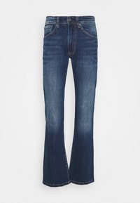 Pepe Jeans - ALFIE - Flared Jeans - dark-blue denim - 3