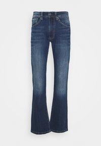 ALFIE - Flared Jeans - dark-blue denim