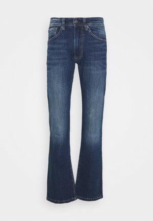 ALFIE - Straight leg jeans - dark-blue denim