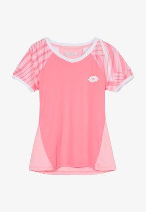 TEN TEE  - Print T-shirt - vivid rose/sweet rose