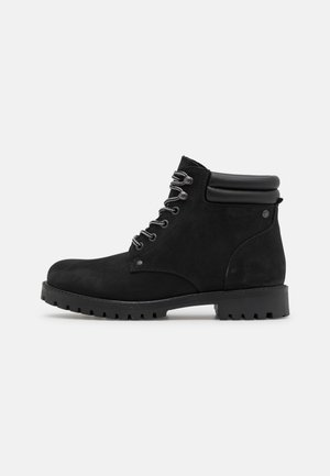 JFWSTOKE BOOT - Lace-up ankle boots - anthracite