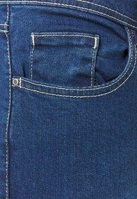 Evans - MIDWASH SHORT LENGTH - Jeans straight leg - blue - 2