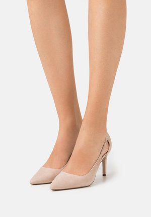 Klassiska pumps - offwhite