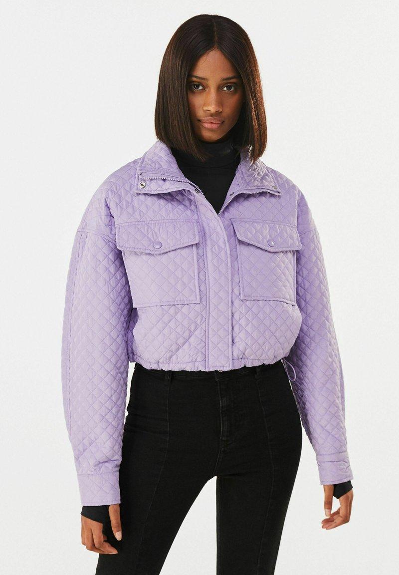 Bershka - Light jacket - mauve
