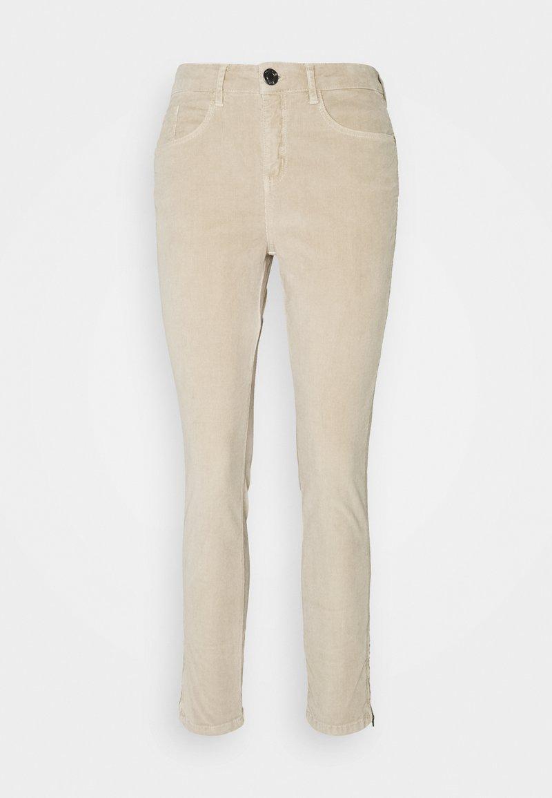 Opus - EMILY ZIP - Trousers - macadamia