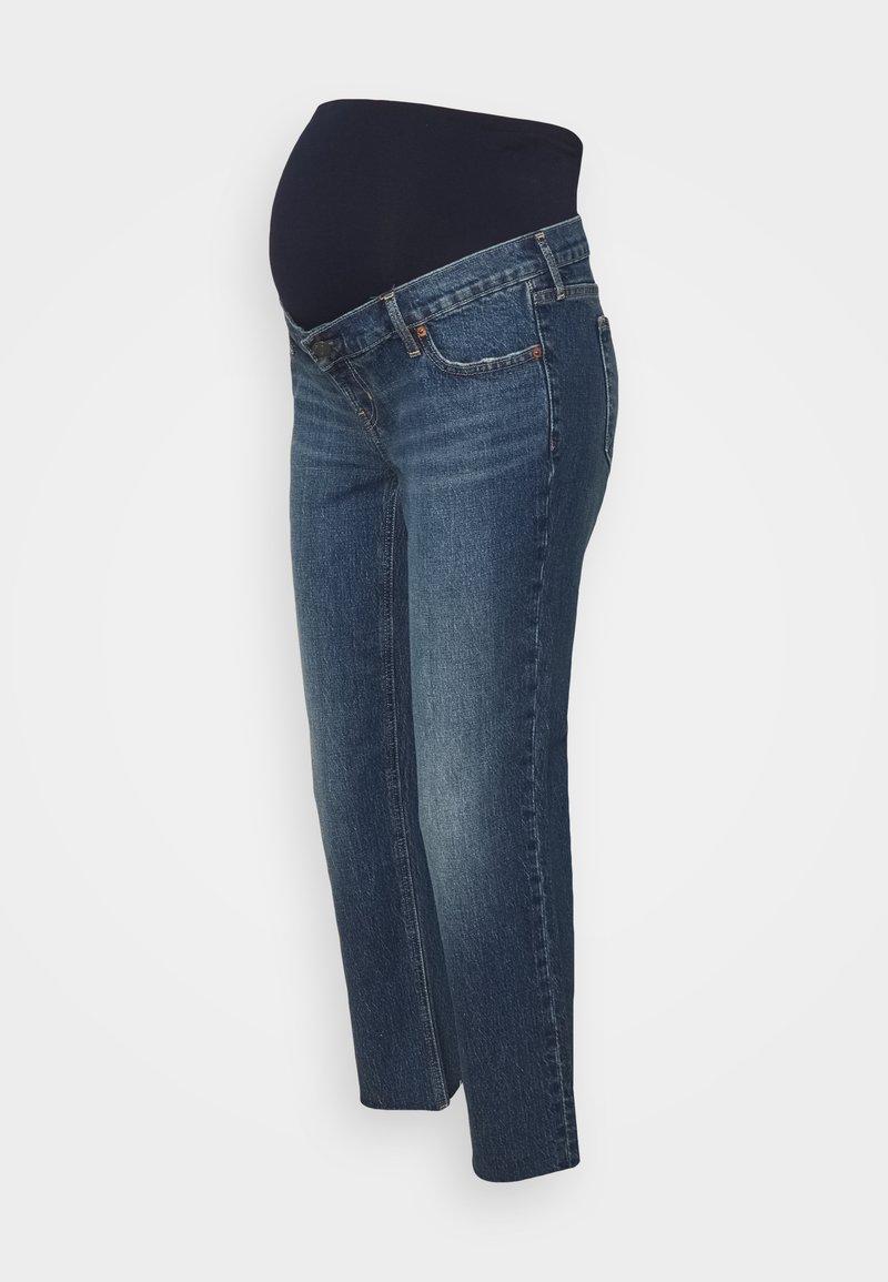 GAP Maternity - CHEEKY ATLANTIC - Jeans slim fit - dark indigo