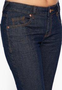 Amor, Trust & Truth - IN GLITZEROPTIK BEL - Slim fit jeans - dunkelblau - 3