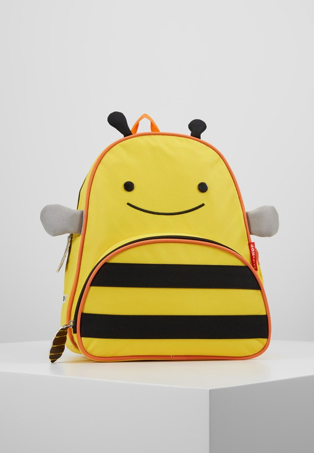 ZOO BACKPACK BEE - Ryggsekk - yellow