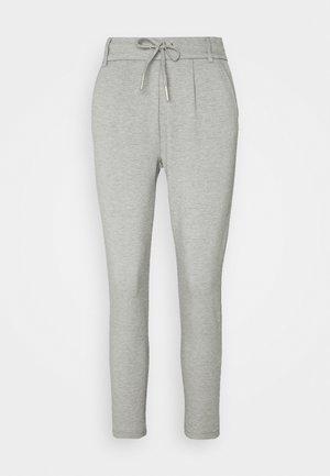 ONLPOPTRASH EASY COLOUR PANT - Spodnie materiałowe - light grey melange