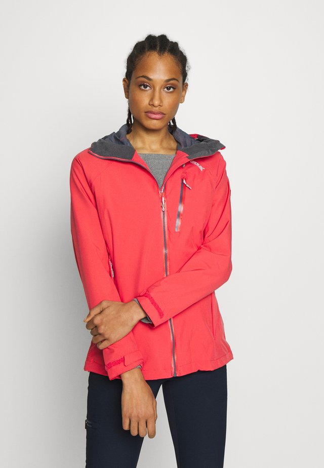 WOMENS BIRCHDALE - Waterproof jacket - red sky