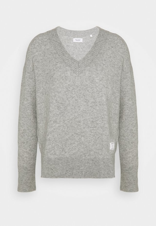 LONG SLEEVE - Jumper - stone melange