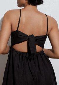 OYSHO - Day dress - black - 1