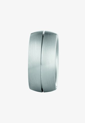 MATTIERT/POLIERT - Ring - silber