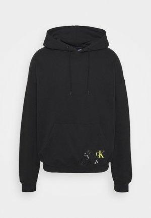 BACK MONOGRAM GRAPHIC UNISEX - Sweatshirt - black