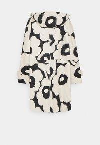 Marimekko - ROHKAISTA UNIKKO COAT - Classic coat - black/off-white - 1