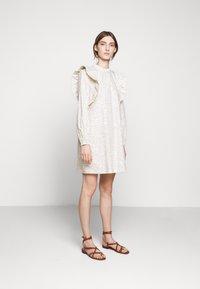 Bruuns Bazaar - POSY FILIPPO DRESS - Day dress - off-white - 1