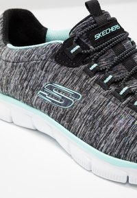Skechers - EMPIRE SEE YA RELAXED FIT - Mocasines - black/turquoise - 2