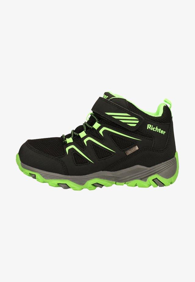 Sneakers laag - black/neongreen
