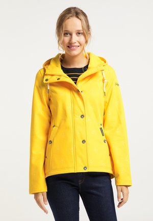 Outdoor jacket - gelb aop