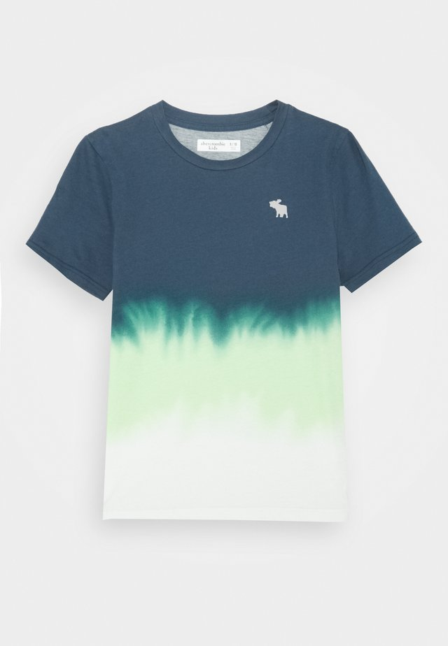 NOVELTY ELEVATED - Print T-shirt - blue/green/white