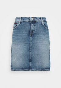 Tommy Jeans - CLASSIC SKIRT - Mini skirt - blue denim - 0