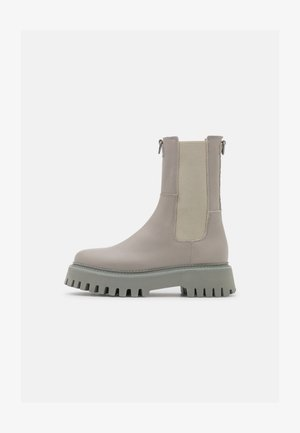 GROOV - Platåstøvletter - military grey