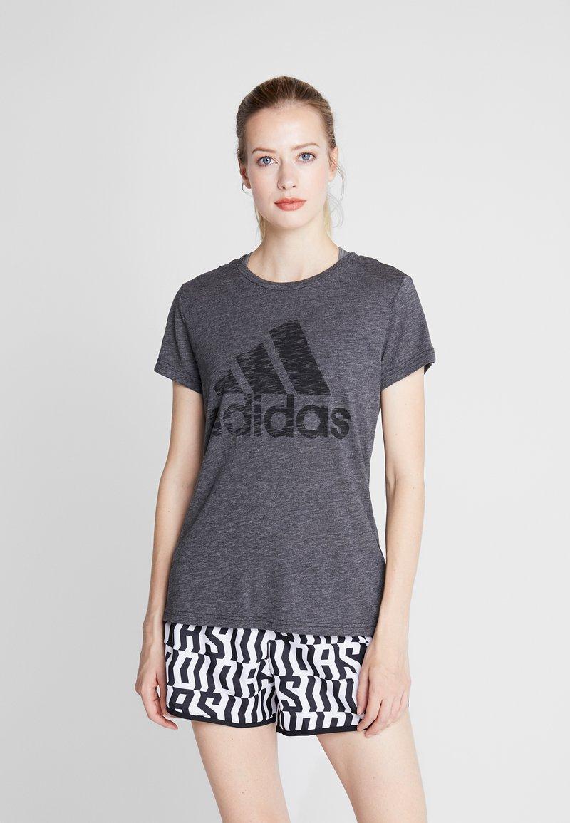 adidas Performance - WINNERS TEE - Camiseta estampada - black