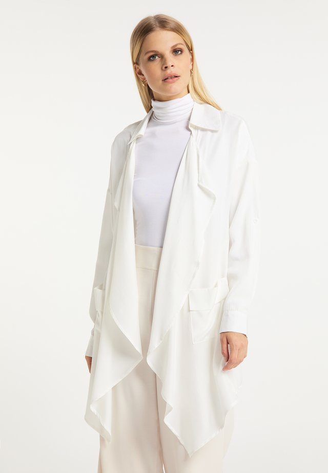 Mantel - weiß