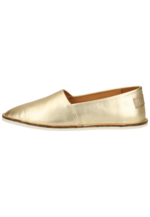 SLIPPER - Mocassins - gold