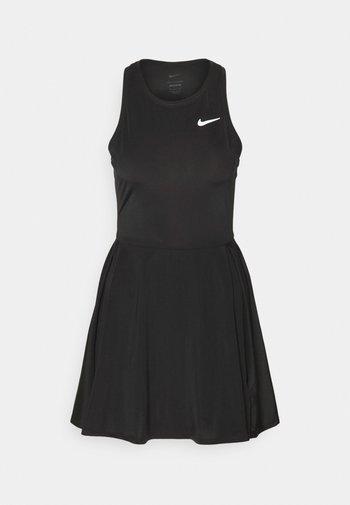 DRESS - Sports dress - black/white