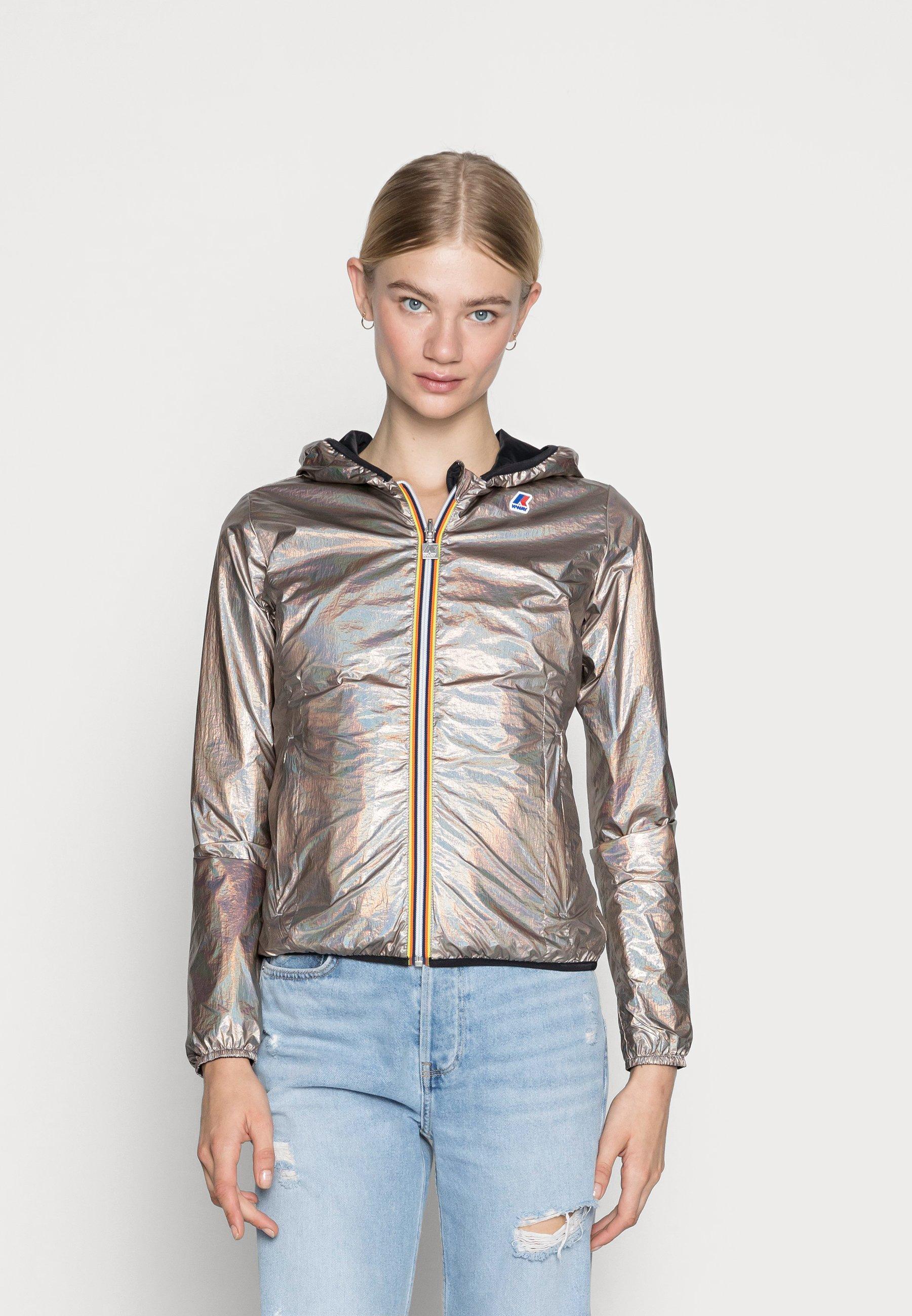 Women PLUS DOUBLE METAL - Light jacket