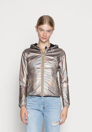 PLUS DOUBLE METAL - Light jacket - bronze