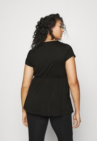 Simply Be - SHORT SLEEVE SMOCK - T-shirt basique - black - 2