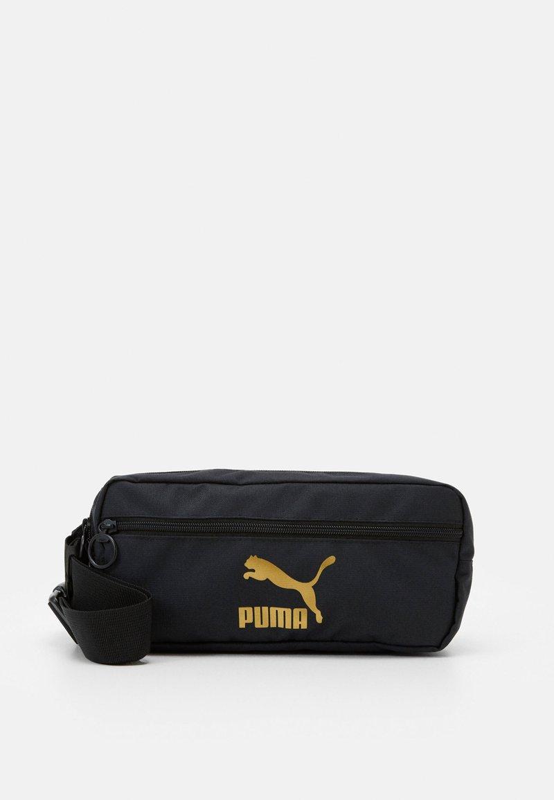 Puma - ORIGINALS WAIST BAG - Bum bag - black/gold