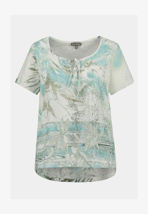 T-shirt print - eisblau