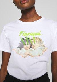 Fiorucci - ANGELS LASER - Print T-shirt - white - 5
