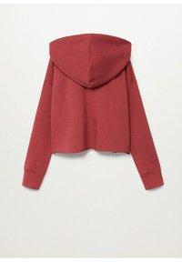 Mango - BELLY - Zip-up hoodie - kersenrood - 1