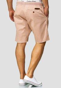 INDICODE JEANS - CARVER - Denim shorts - cameo rose - 2