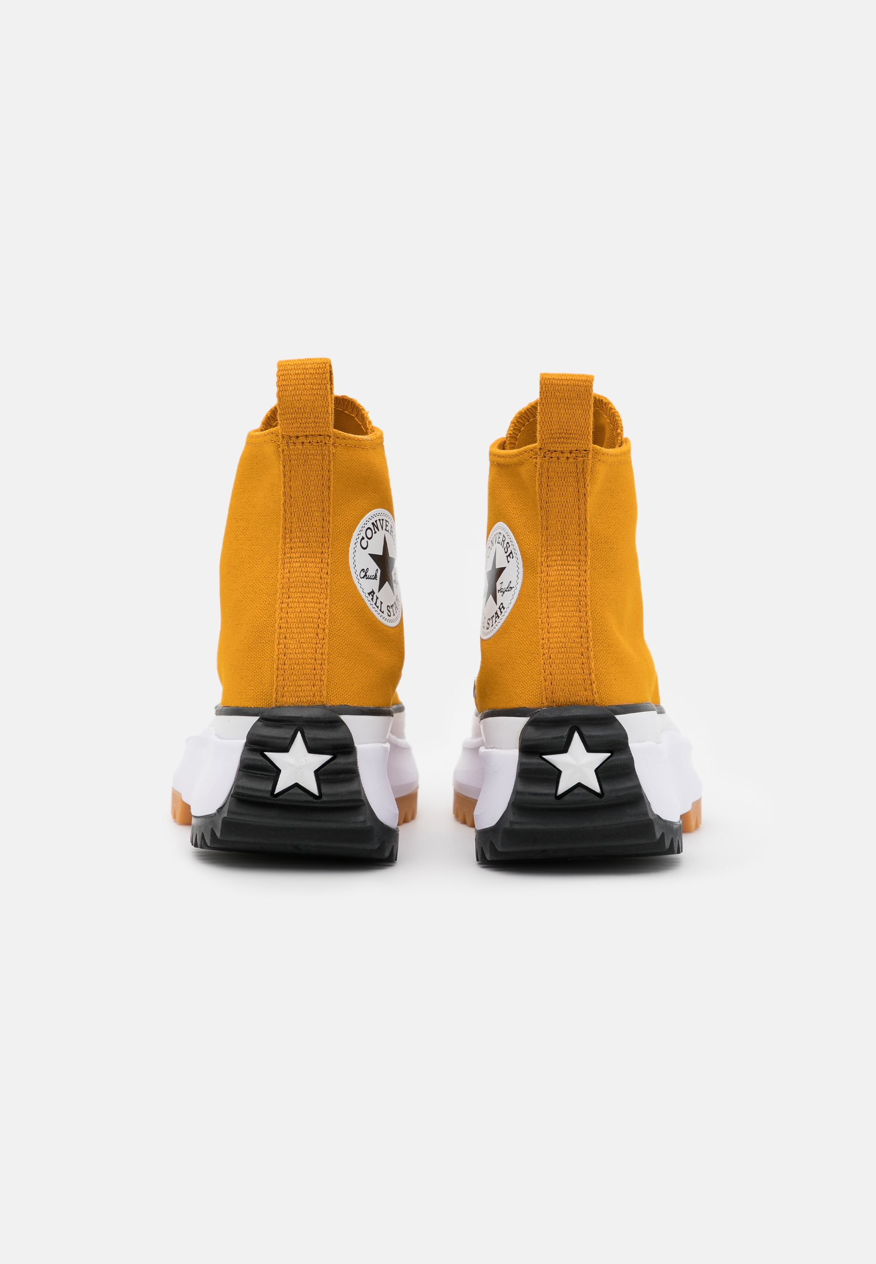 Converse RUN STAR HIKE Sneaker high saffron yellow/white/black/gelb
