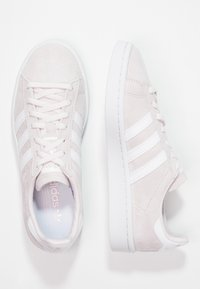 adidas Originals - CAMPUS - Sneakers - orchid tint/footwear white/crystal white - 3