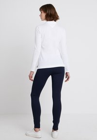 Tommy Hilfiger - HERITAGE LONG SLEEVE SLIM  - Polo shirt - classic white - 2